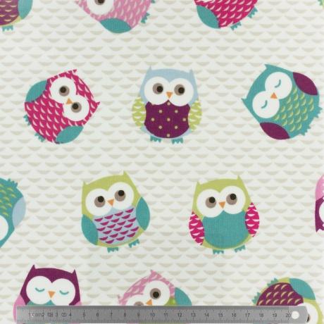 Tissu fryett s enduit owls 1