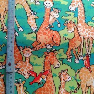 Tissu girafe 1