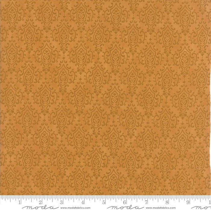Tissu patch damasse couleur abeille 1