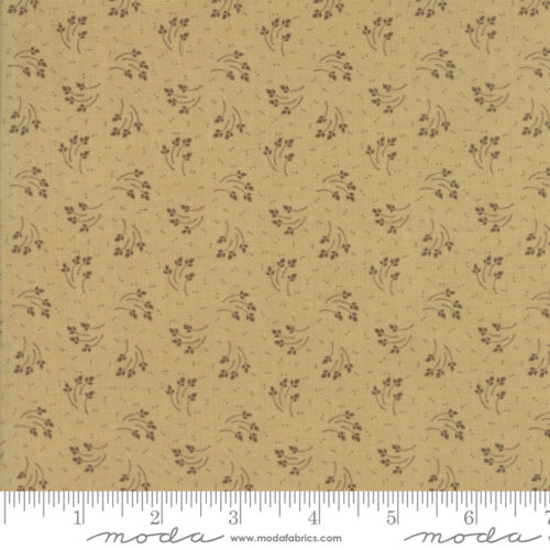 Tissu patch leaves green 2787 16