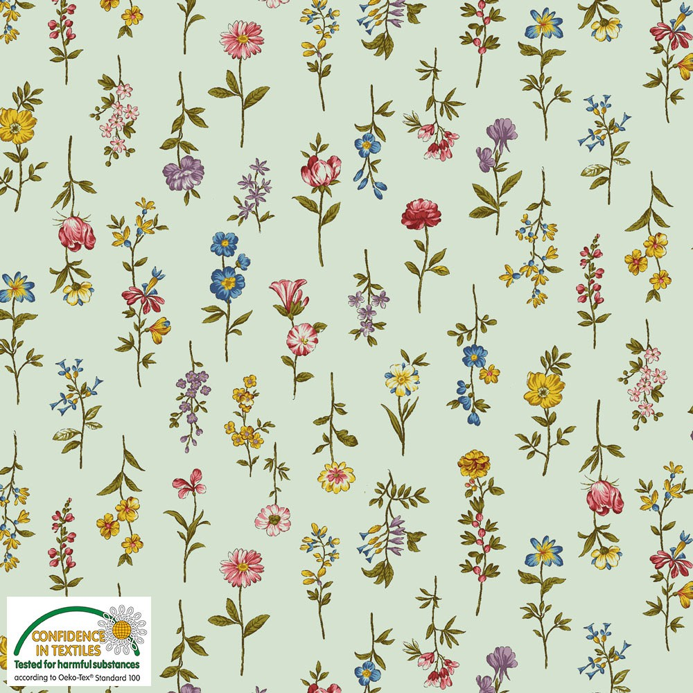 Tissu patch stof 4500 493 spring meadow