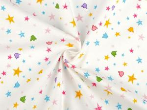 Tissu patchwork etoile et couronne 1
