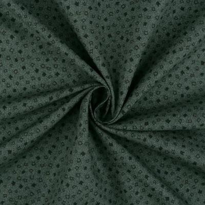 Tissus Patchwork Stof Basic Vert Bouteille
