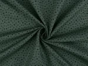 Tissu patchwork vert bouteille 2