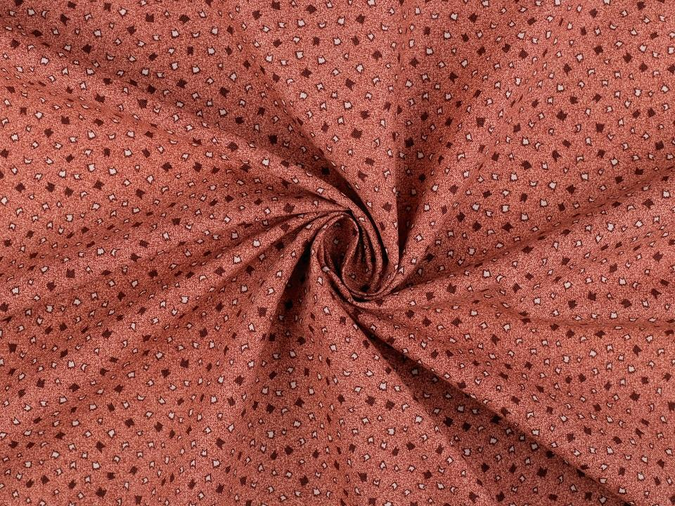 Tissu patchwork vieux rose 2