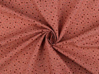 Tissus Patchwork Stof Basic Vieux Rose