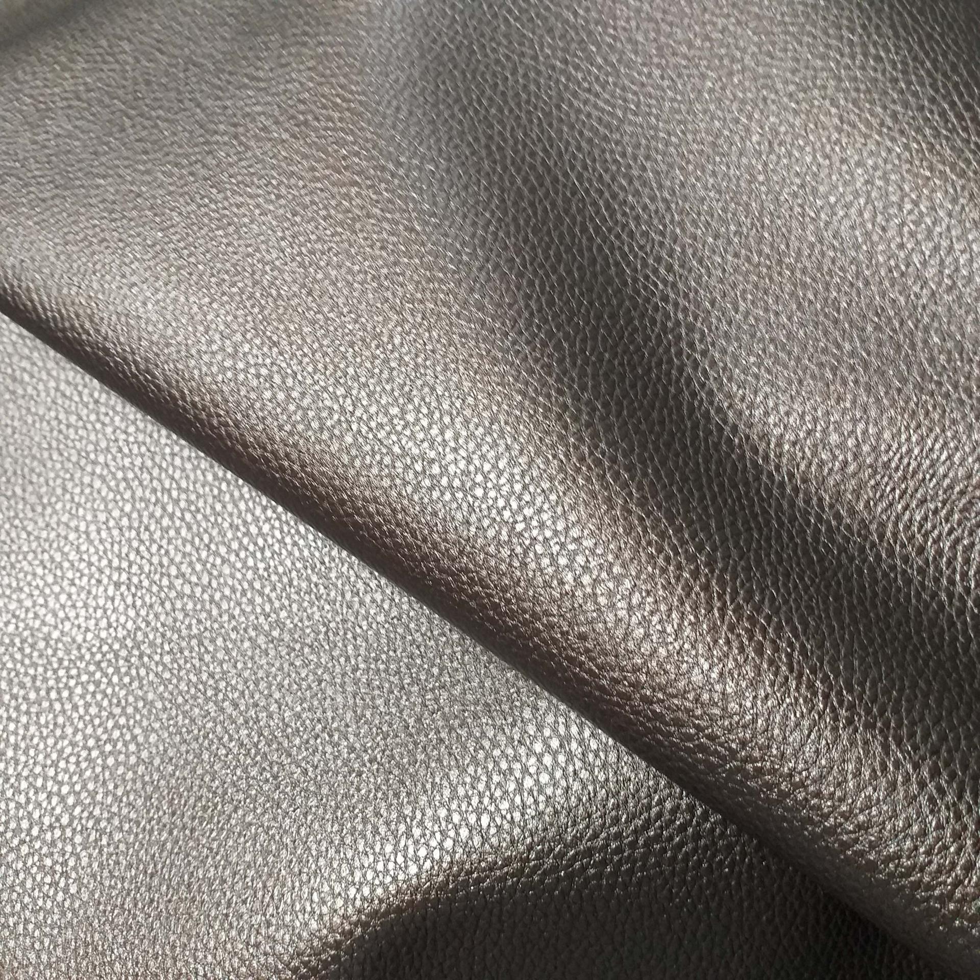 Tissu simili cuir bronze 1