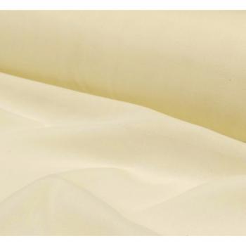 Tissu toile a beurre ecru largeur 150cm x 50cm