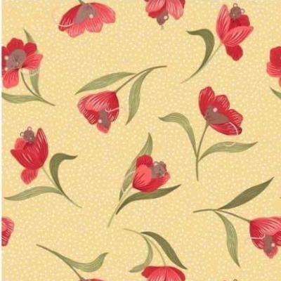 Tissus Patchwork Tulips Fields 55