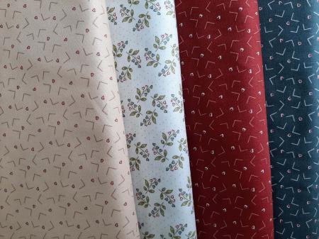Tissus patchwork eqp news vintage love letters 1