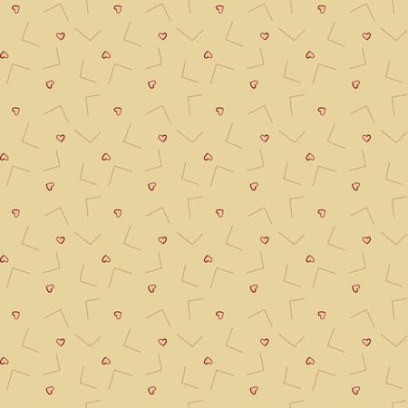 Tissus patchwork eqp news vintage love letters sand nv210302