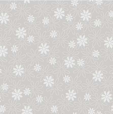 Tissus patchwork illusions neu 60 4425 gris