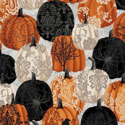Tissu Patchwork Spookie Night SE5717-93 45x55 cm