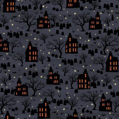 Tissu Patchwork Spookie Night SE5723-97 45x55 cm
