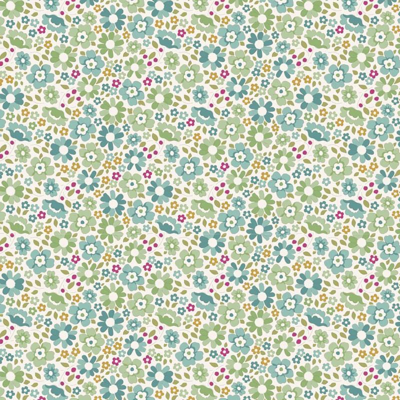 Tissus patchwork tilda woodland clara 100299