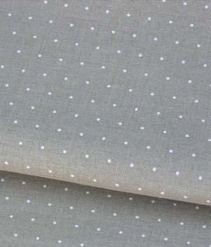 Toile à Broder Zweigart  de Lin Edinburgh 3217 14 Fils 1399 Mini Dots