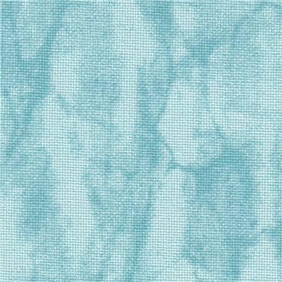 Toile a broder zweigart murano 3984 12 6 fils vintage bleu 5439