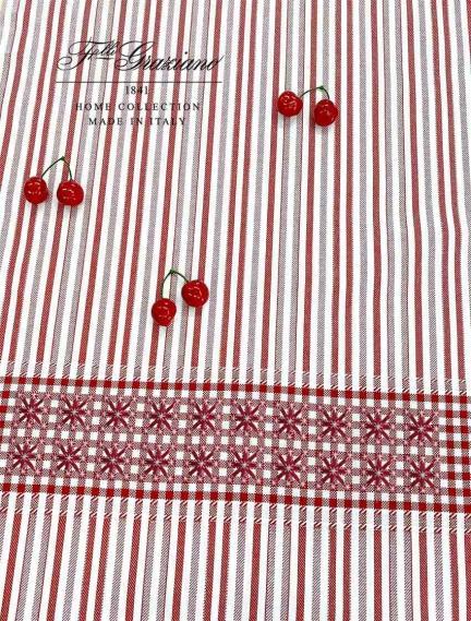Toile colonia centro coloris rosso rouge graziano largeur 180 cm 4