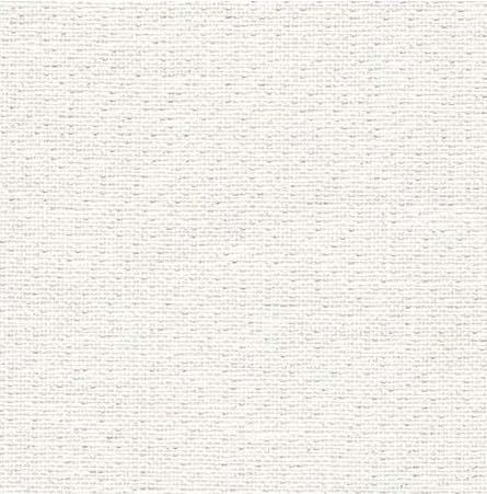 Toile edinburgh 14 fils blanche irisee 1111