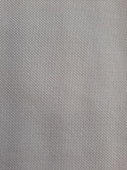Toile etamine 8 fils blanc