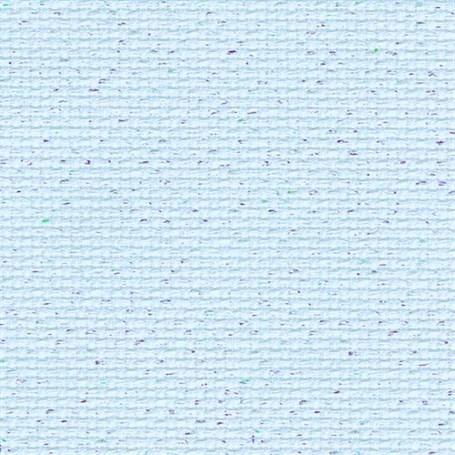 Toile zweigart aida star 5 4 pts 3706 bleu irise opalescent 5169 3