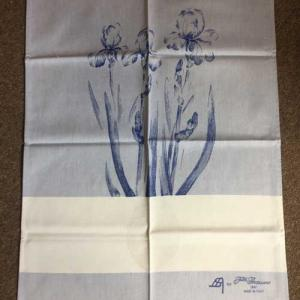 Torchon graziano iris bleu2