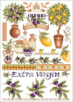 Toskana oliven 0403 0511 006 lindner s kreuzstiche 2