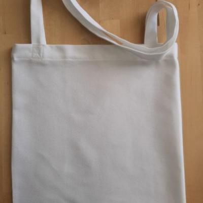 Tote-Bag à broder - En Etamine 8,5 fils  Blanc