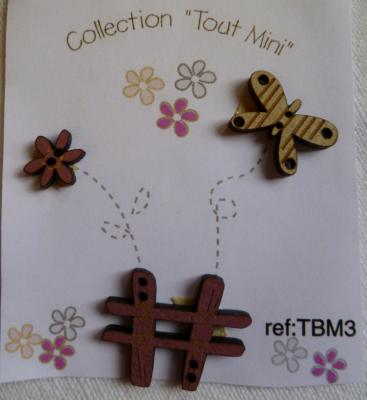 Collection Tout mimi Papillon TBM3