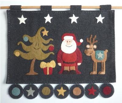 Trio de Noël Le Jardin de Woolens