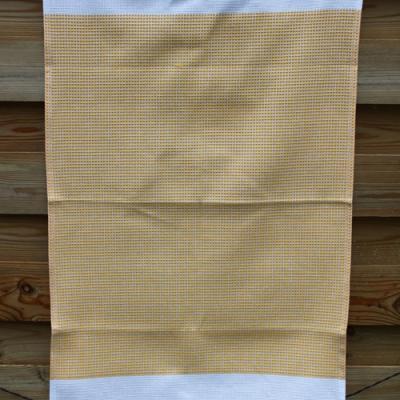 Torchon Nid d'Abeille 47x80 cm Couleur Jaune