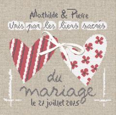 Unis par les liens du Mariage M012 Lilipoints