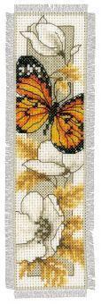 Kit marque-page Papillon et fleurs N°4 Vervco PN-0145352