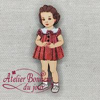 Fillette Col Blanc VI-43 - Atelier Bonheur du jour