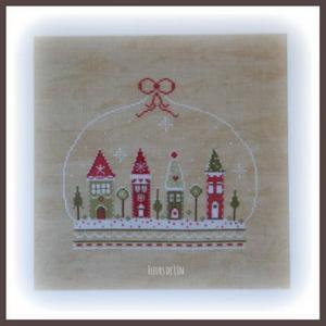 Village de noel 99 2 big 2 www fleursdelin kingeshop com