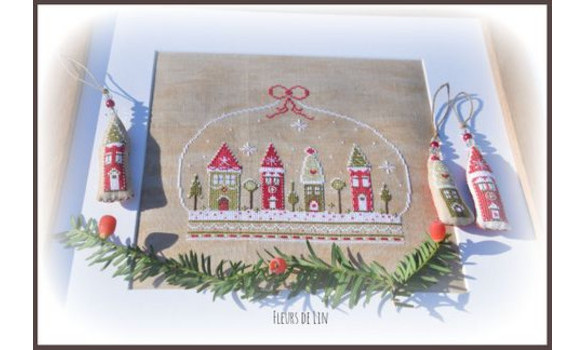Village de noel 99 2 big 5 www fleursdelin kingeshop com