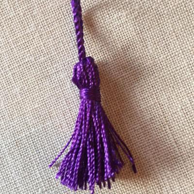 Pompon VIOLET  3.5 cm