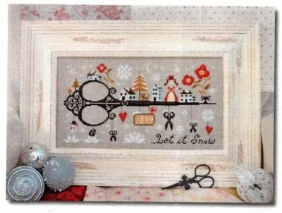 Let it Snow 'Vive la Neige' Barbara Ana Designs