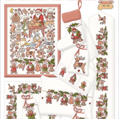 Weihnachtsbäckerei 103 Lindner's Kreuzstiche
