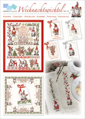 Weihnachtswichtel 113 Lindner's Kreuzstiche