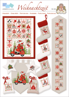 Weihnachtszeit 059 Lindner's Kreuzstiche