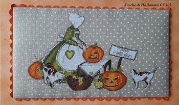 Zucche di Halloween CV107 Serinità di Campagna