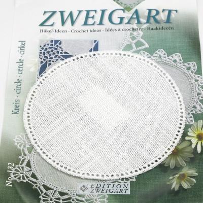 Napperon crochet - ROND 7012 Blanc 100 - ZWEIGART