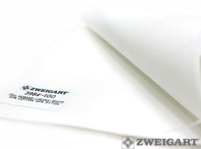 Toile à Broder Zweigart Murano 3984 12,6 Fils Blanc 100
